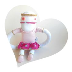 Christmas Angel stuffed doll  Zeza Angel  fairy costume by Zezling