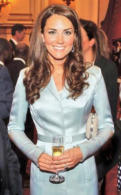Kate Middleton at the Olympics opening ceremony party