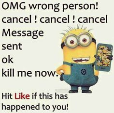 Free Funny minions September 2015 quotes PM, Monday September 2015 PDT) – 10 pics Oh this is sooo funny. Minions Fans, Funny Minion Memes, Minions Love, Minions Quotes, Funny Texts, Funny Humour, Minion Humor, Minions Images, Minion Pictures