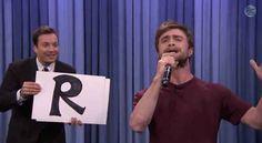 Turns out Daniel Radcliffe is amazing at rapping.