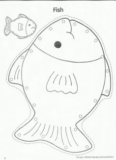Template for fishbowl results for pets preschool guest for Fish coloring pages for preschool