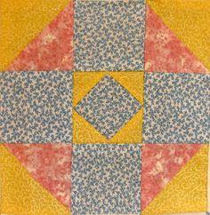 simple quilt block pattern