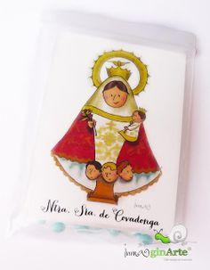 Virgencita de Covadonga con rosario / Virgencita Our Lady of Covadonga with rosary
