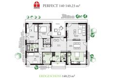 Perfect 140 - DAN-WOOD House schlüsselfertige Häuser