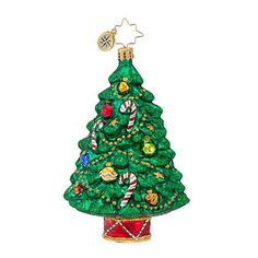 Christopher Radko Well-trimmed Tree Ornament