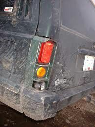 Jeep cherokee xj rear lights