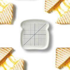 "PEGATA ""Parte y reparte"" sandwich plate"