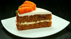 Finally! A carrot cake that's delicious AND nutritious