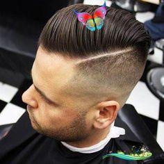 12 Best Hard Part Haircuts For Men 2019 ~ Mens Hairstyles<br> Mens Hairstyles Fade, Haircuts For Men, Hard Part Haircut, Faded Hair, Hair Cuts, Hair Styles, Fashion, Man Haircuts, Haircuts