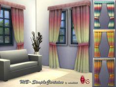 MB-SimpleCurtains  Gardinen mit Farbverlauf, in 4 verschiedenen Designs, kreiert für Sims 4, von matomibotaki.  Curtains gradient, in 4 different designs, created for Sims 4, by matomibotaki.  https://www.allaboutsims.net/forum/index.php/Thread/15977-MB-SimpleCurtains/?postID=77803#post77803