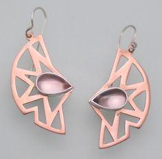 Rose quartz, copper.