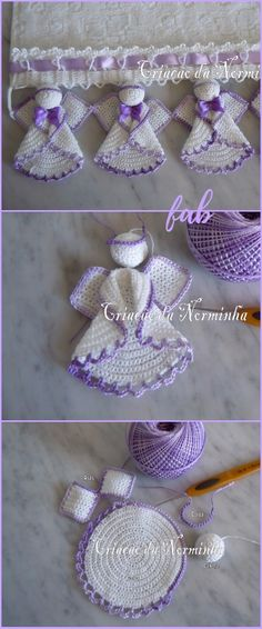 Crochet Circle Angel Free Patterns