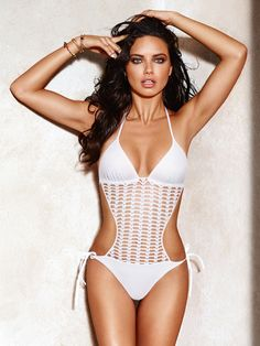 2e5841d688760 Lima took beachwear babe to a whole new level for the campaign RUSSELL JAMES