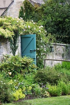 A door permanently propped open doesnt have to go anywhere -but it looks inviting!