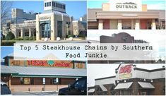 Top 5 Steakhouse Chains by Southern Food Junkie Southern Food, Southern Recipes, Franchise Restaurants, Outback Steakhouse, Cool Places To Visit, America, Chains, Outdoor Decor, Top