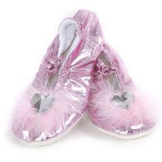 Pink Princess Slippers  http://www.efairies.com/store/pc/Pink-Princess-Slippers-89p7444.htm  $13.95