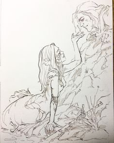 Mermaid Drawings, Mermaid Art, Pretty Art, Cute Art, Art Drawings Sketches, Tattoo Sketches, Wow Art, Art Reference Poses, Art Sketchbook