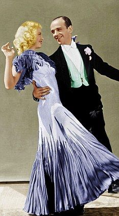 ginger rogers and fred astaire color - Google Search