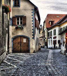 Durnstein, Austria (where Richard the Lionheart was imprisoned during the Crusades)