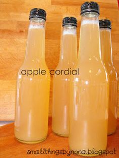 We Have 4 Apple Trees And Get Gluts So Cordial Is Perfect For Using Up Windfalls