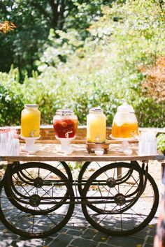 brunch reception station // photo by TandCPhotographie.com