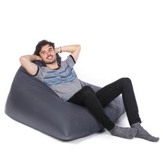 Indoor/Outdoor Tri-Gamer Bean Bag - Grey
