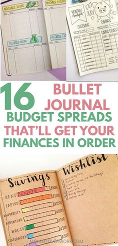 Make this the year you get a hold of your finances. Find the best colorful & minimalist BULLET JOURNAL BUDGET layouts to get your financial act together. Effective weekly overview spread, monthly bills tracker, Dave Ramsey debt snowball payoff tracker, expenses log, needs vs wants list, & other great money ideas. Get a free bullet journal coin & piggy bank printable template. Fun yet simple goal settings pages that keep you motivated to build savings for emergency fund or getaway travel…