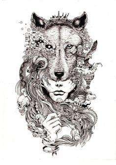 Hyperdetailierte Zeichnungen von Kerby Rosanes