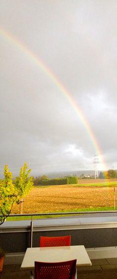 Anfang oder Ende des Regenbogens