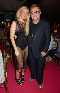 Pin for Later: La Question Est: Avec Qui Ellie Goulding N'est-Elle Pas Amie? Ellie Goulding et Elton John