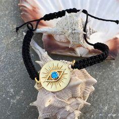Evil eye gold bracelet gold bracelet handmade Greek evil | Etsy