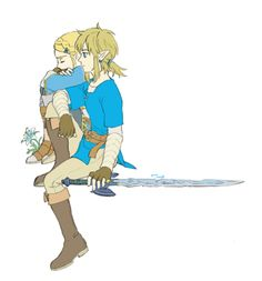 The Legend of Zelda | Breath of the Wild | Link and Zelda