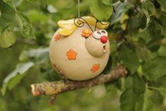 Madame Flatter Gartenkeramik von Sonja´s Bastelecke auf DaWanda.com