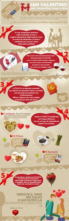 """Guida Galattica per Buongustai"" San Valentino #infographic #valentinesday  #cirio #love"