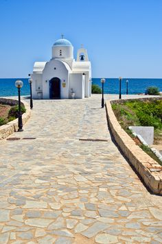 Church in Protaras, Cyprus