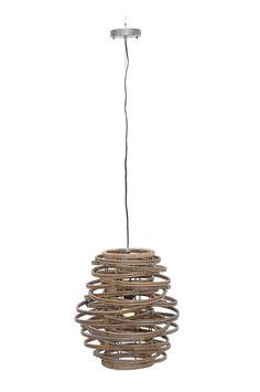 Oceola Hanging Lamp-C-Kuboo Grey
