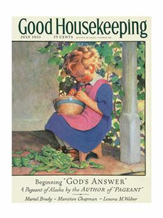 Retro Magazine Covers - 1930s Vintage Cover Art - Good Housekeeping
