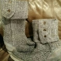 Ugg sweater boot Grey UGG Shoes Winter & Rain Boots