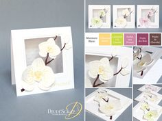 Stampin'Up! by Djudi'Scrap - Cartes Remerciements «Set Orchidée Grimpante/ Climbing Orchid Stamp Set »
