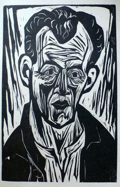 Last Semester of School: Erick Heckel (German Expressionism)