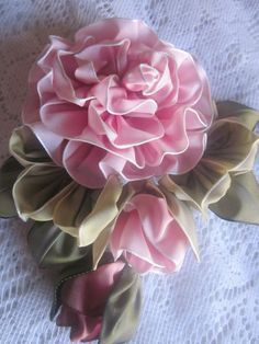 French Ombre Vintage Style Millinery by GrandmasFlowerGarden