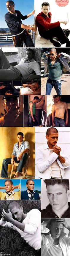 Wentworth Miller is a product of perfection that God continues to tease me with.
