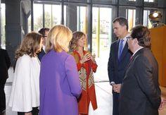 Su Majestad el Rey Don Felipe VI, acompañado de su padre el Rey Don Juan Carlos I, asistieron al acto dentro del Día de la Innovación de la Fundación COTEC. 13-05-2016