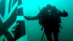 History: The Royal Navy white ship sank and the divers of the UK are going in to find the wreckage.