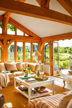 Wood Home Decor 2020 – What kind of wood is used for log homes? - Home Style Dream Home Design, My Dream Home, Home Interior Design, Interior Architecture, Rustic Cabin Decor, Wood Home Decor, Style At Home, Design Case, Design Design