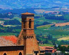 Travel Photography  Tuscan Church in San di PetitePastiche su Etsy, $30.00
