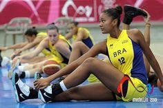 Baloncesto Femenino Brasil vs Ecuador by Medellín 2010, via Flickr