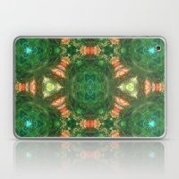green oasis pattern Laptop & iPad Skin