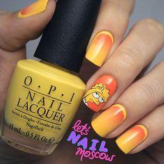 Instagram media letsnailmoscow -  Lisa Simpson #nail #nails #nailart