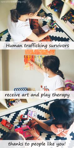 Children ages 5-17 at the Thrive Rescue Homes in Pattaya, Thailand, who have survived human trafficking, now enjoy a play therapy room.  Each of the children in Thrive's care have experienced severe PTSD and abuse. Play and art therapy make a real difference for them. Thanks in part to Operation Blessing and our faithful supporters, these children are receiving the vital aftercare they need. #stoptrafficking